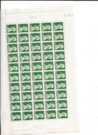 FEUILLE COMPLETE MONACO Y Et T N°281 Année 1946 - Other