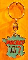 PORTE CLEF IMAGE SON MULTIMEDIA MENAGER PULSAT C'EST LA UZES / PASCAL CHAFFARD PONT DES CHARRETTES - Porte-clefs