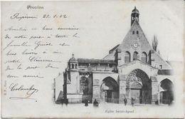 SEINE Et MARNE-PROVINS Eglise Saint Ayoul-MO - Provins