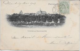 SEINE Et MARNE-PROVINS Vue De La Ville Haute-MO - Provins