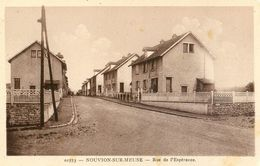 08 - Nouvion Sur Meuse - Rue De L'Espérance - Frankrijk