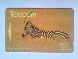 9NZAB Zebra $5 - New Zealand