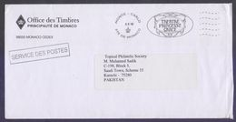 MONACO Postal Hisory Cover POSTAGE PAID Officially Used 2.2.2018 - Briefe U. Dokumente