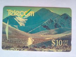 7NZLL Mountains $10 - New Zealand