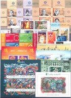 2017. Azerbaijan, Year Set 2017, 21v + 6 S/s + 3 Sheetlets, Mint/** - Azerbaïdjan
