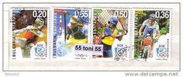 2003 NEW OLYMPIC SPORTS Set Of 4v.- Used/oblitere (O)  BULGARIA / BULGARIE - Francobolli