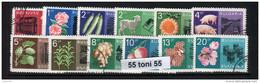 1967 Economic Achievable 12 V.- Used/oblitere (O)   Bulgaria / Bulgarie - Agricultura