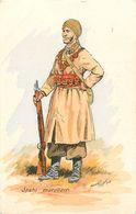 UNIFORME  - SAPHI MAROCAIN - 1939 - MAURICE TOUSSAINT - ILLUSTRATEUR - Uniformes