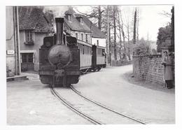 CPM TRAIN VOIR DOS 19 Marcillac La Croisille Vers Tulle Spécial Des Facs Lovomotive Vapeur En 1959 - Tulle