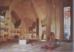 Neviges Krs. Mettmann - Neue Wallfahrtskirche  - Innenansicht  **AK-06-083** - Mettmann