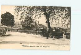 BRIGNOLES - Le Pont Des Augustins Animé - TBE  - 2 Scans - Brignoles