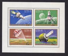 HONGRIE AERIENS N°  337 à 340 ** MNH Neufs Sans Charnière, TB  (CLR173) Cosmos, Luna 16 - Poste Aérienne