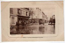 60 : Creil : La Rue De Montataire Innondé - Creil
