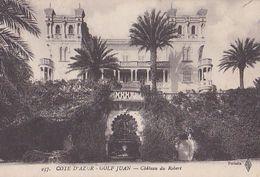 GOLFE JUAN   Château Du ROBERT. - France