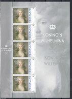 Nederland  2013  Koningin Wilhelmina    Royalty  Sheetlet    Postfris/mnh/sans Charniere - Periode 1980-... (Beatrix)