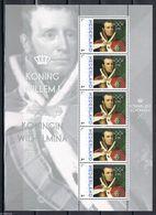 Nederland  2013  Koning Wilhelm I     Royalty  Sheetlet    Postfris/mnh/sans Charniere - Periode 1980-... (Beatrix)
