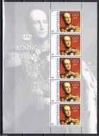 Nederland  2013  Koning Wilhelm II     Royalty  Sheetlet    Postfris/mnh/sans Charniere - Periode 1980-... (Beatrix)