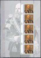 Nederland  2013  Koning Wilhelm III     Royalty  Sheetlet    Postfris/mnh/sans Charniere - Periode 1980-... (Beatrix)
