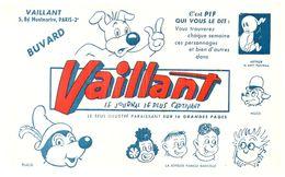 J V/Buvard Jounal Vaillant  (Format 21 X 14) (N= 1) - Buvards, Protège-cahiers Illustrés
