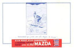 Pi M/ Buvard Pile MAZDA (N= 013) - Piles
