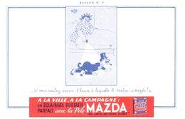 Pi M/ Buvard Pile MAZDA (N= 11) - Accumulators