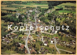CH - Büron B. Sursee LU - Fliegeraufnahme Photoswissair Um 1990 - LU Lucerne