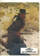 12 Photographies D'exploitation Western Clint Eastwood L'Homme Des Hautes Plaines + Affiche - Photographs