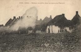 BELGIQUE - ANVERS - ANTWERPEN - 1914 - Maisons Incendiées Dans Un Faubourg D'Anvers. (n°236). - Antwerpen