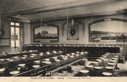 BELGIQUE - LUXEMBOURG - HABAY - HACHY - Pensionnat St-Joseph - Réfectoire (1re Division). - Habay