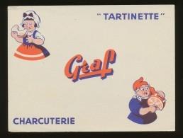 Buvard -  Charcuterie GRAF - Buvards, Protège-cahiers Illustrés