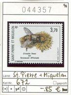 St. Pierre & Miquelon - SPM - Michel 672 (Yvert  594) ** Mnh Neuf Postfris - Schlammfliege - Nuovi