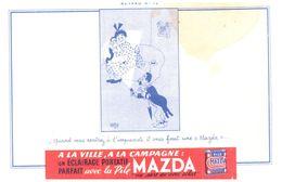 Pi M/ Buvard Pile MAZDA (N= 12) - Accumulators