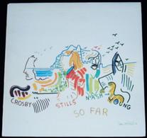 """CROSBY, STILLS, NASH & YOUNG – """"SO FAR"""" – 1974 – K 50023 – ATLANTIC - Rock"""