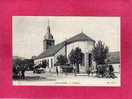 88 Vosges, Gerardmer, L'Eglise, Animée, 1916, (ND Phot) - Gerardmer