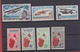 Madagascar / Lot De Timbres / Aviation - Madagascar (1960-...)
