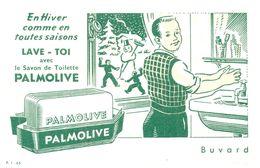 S Pal/ Buvard Savon Palmolive (Format 17 X 11) (N= 2) - Buvards, Protège-cahiers Illustrés