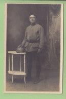 Soldat Du 81e Régiment D'Infanterie De Montpellier. 2 Scans. Carte Photo - Guerre 1914-18