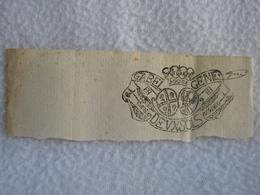 Timbre Frais Du XVIIIe Royaume De Savoie Sardaigne GABEL GENE DEUX SOLS / Tampon Taxe 100% Authentique - Cachets Généralité