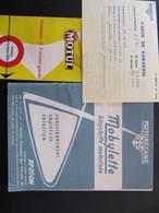 Livret Fonctionnement - MOBYLETTE - MOTOBECANE + CARTE DE GARANTIE GARAGE MIGNOT JOINVILLE + CONSEILS MOTUL - Motos