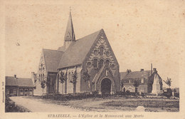 Strazeele Eglise Et Monument Aux Morts - France