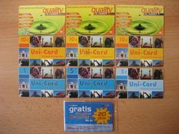 TK Österreich 10 Verschiedene Prepaid Karten Gebraucht - Austria