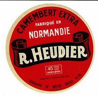 Et. Camembert EXTRA De Normandie - HEUDIER - 45 % 240 G - Fromage