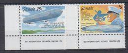 V03. Grenada - MNH - Transport - Zeppelins - Zeppelins