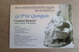 LE P'TIT QUINQUIN - L'Canchon Dormoire - Paroles Et Musique De Desrousseaux ( 59 Nord ) - Lille