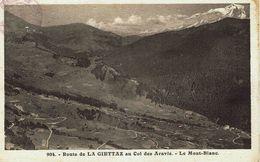 CPA - Carte Postale -- FRANCE - Route De La GIETTAZ Au Col Des Aravis -(iv 411) - Albertville