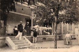 HOPITAL MARITIME DE ST MANDRIER -83- ENTREE DU PAVILLON TOLLET - Saint-Mandrier-sur-Mer