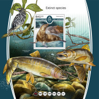 SOLOMON ISLANDS 2017 MNH** Extinct Animals Ausgestorbene Tiere Animaux Eteints S/S - OFFICIAL ISSUE - DH1805 - Briefmarken