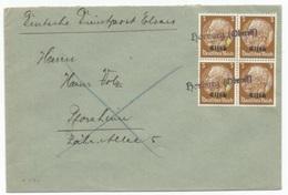 H113 - HORBURG Oberels - 1940 - Provisoire Caoutchouc Hindenburg Surchargé Elsass - Gummistempel - - Alsace-Lorraine