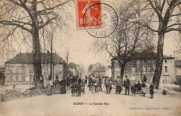 71 BLANZY  La Grande Rue (très Animée) - Other Municipalities