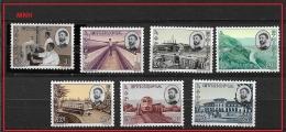 ETHIOPIA    1965 Progress  TRANSPORT  BUILDINGS ECC.   USED - Etiopía